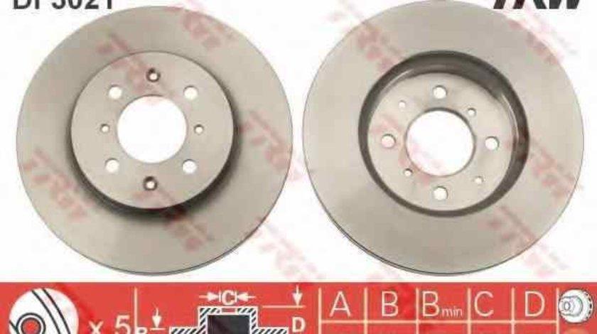 Disc frana HONDA CIVIC VI Fastback MA MB TRW DF3021