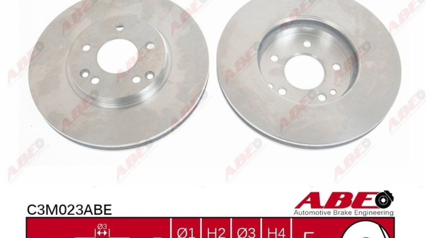 Disc frana MERCEDES-BENZ SLK R170 Producator ABE C3M023ABE