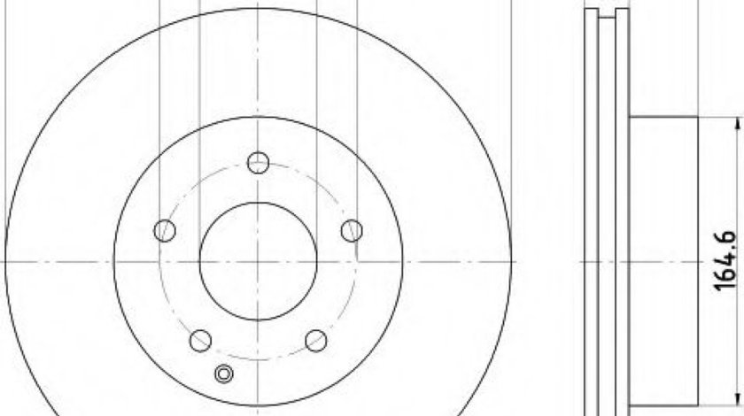 Disc frana MERCEDES C-CLASS (W204) (2007 - 2014) TEXTAR 92159603 produs NOU