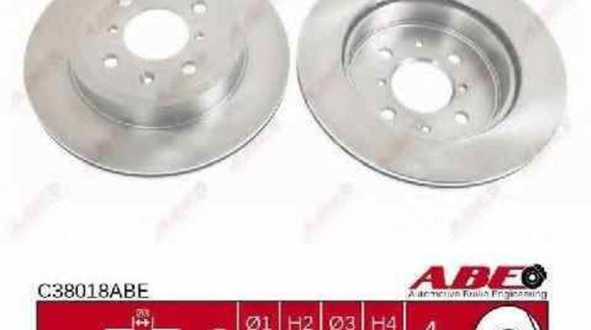 Disc frana OPEL AGILA A H00 ABE C38018ABE