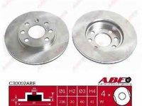 Disc frana OPEL ASCONA B (81_, 86_, 87_, 88_) Producator ABE C30002ABE