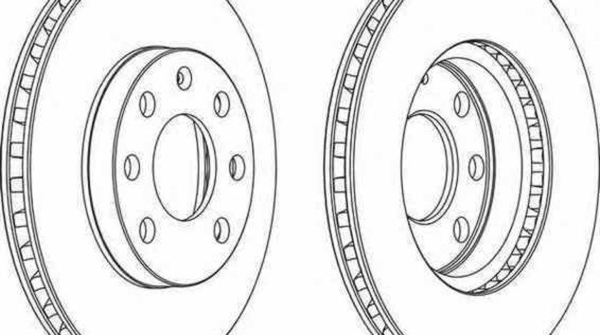 Disc frana OPEL ASTRA F CLASSIC hatchback FERODO DDF151