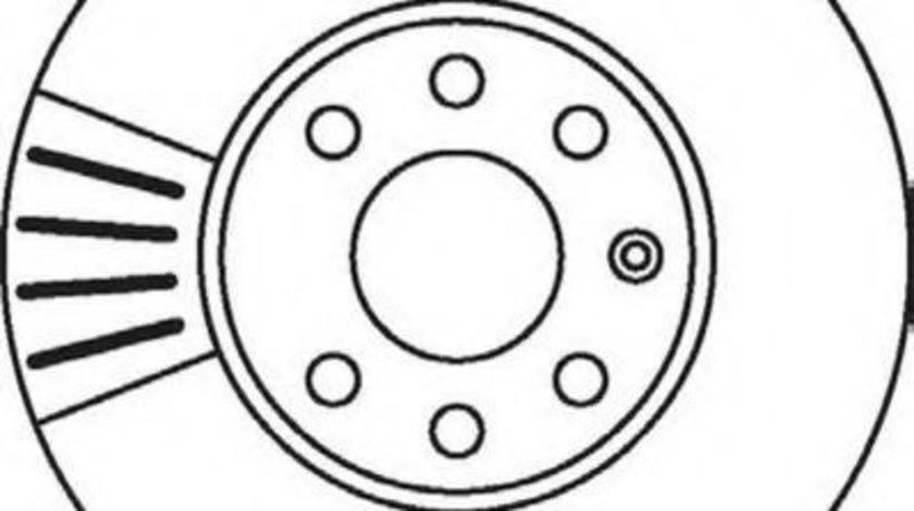 Disc frana OPEL ASTRA G Hatchback (F48, F08) (1998 - 2009) JURID 562069JC piesa NOUA