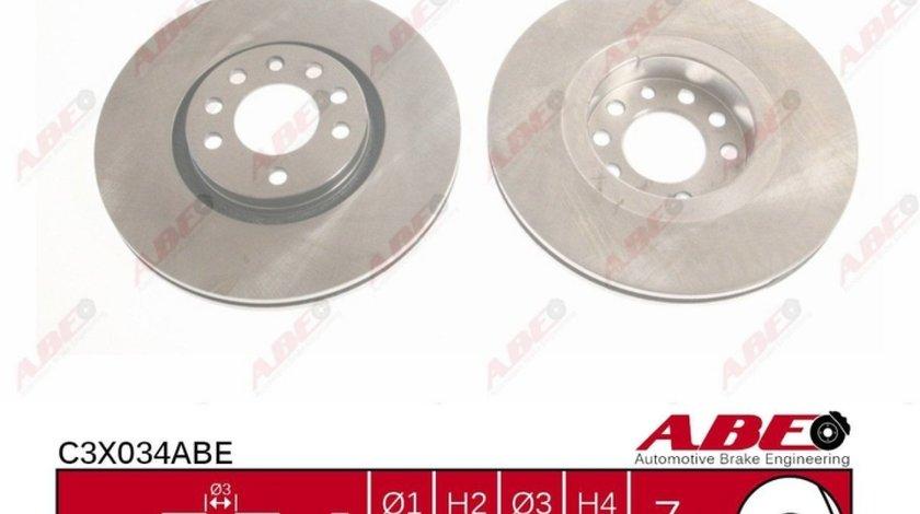 Disc frana OPEL ASTRA G hatchback F48 F08 Producator ABE C3X034ABE