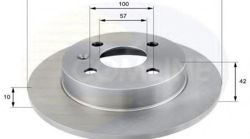 Disc frana OPEL ASTRA H GTC (L08) (2005 - 2016) COMLINE ADC1106 - produs NOU