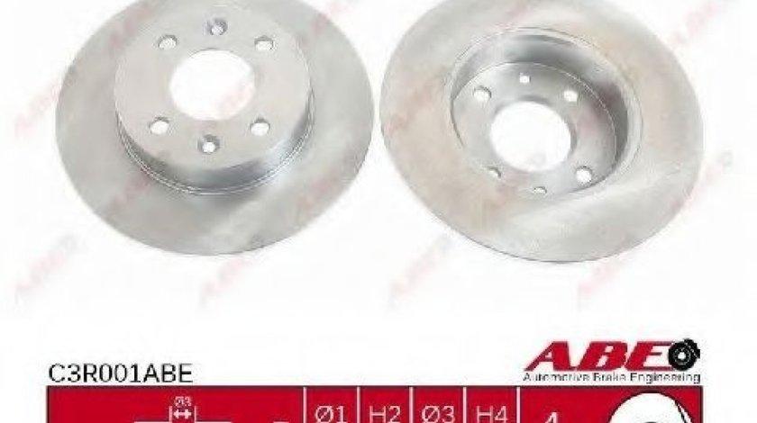 Disc frana RENAULT CLIO I (B/C57, 5/357) (1990 - 1998) ABE C3R001ABE produs NOU