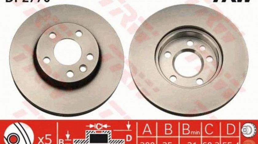 Disc frana Volkswagen Sharan (1995-2010)[7M8,7M9,7M6] #2 09693410