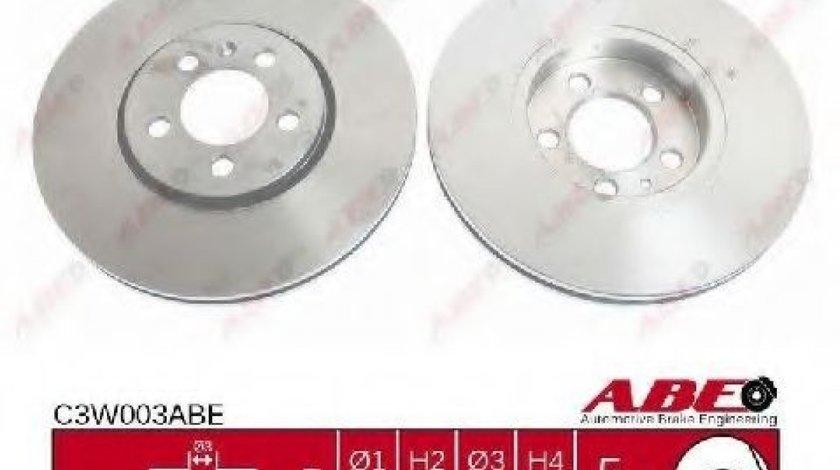 Disc frana VW BORA Combi (1J6) (1999 - 2005) ABE C3W003ABE piesa NOUA