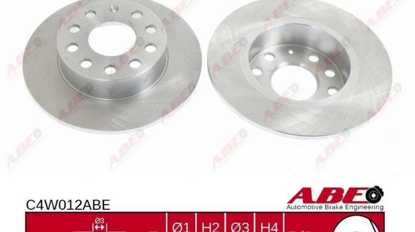 Disc frana VW GOLF V 1K1 Producator ABE C4W012ABE