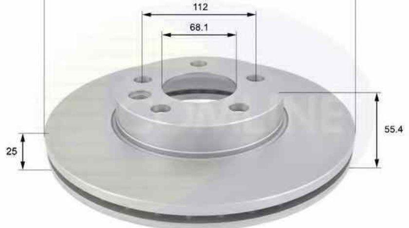 Disc frana VW SHARAN 7M8 7M9 7M6 COMLINE ADC1418V