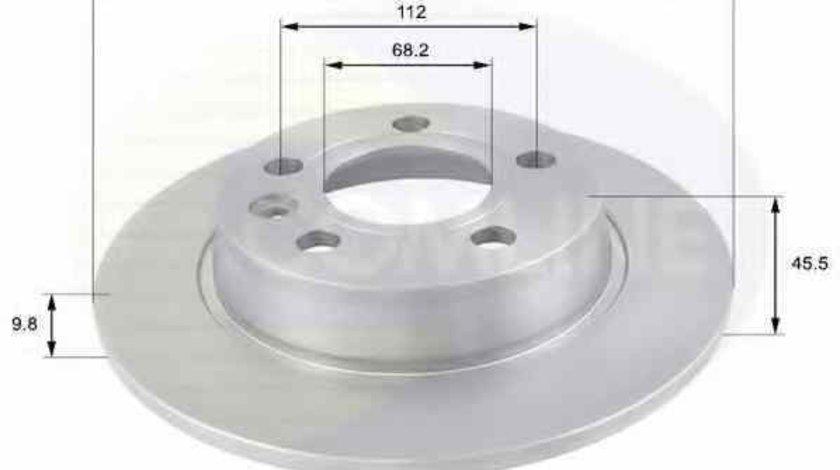 Disc frana VW SHARAN 7M8 7M9 7M6 COMLINE ADC1429