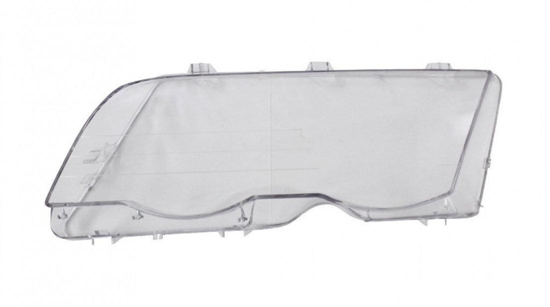 Dispersor sticla far Bmw Seria 3 (E46) Sedan/Combi 06.1998-09.2001 DJ AUTO fata stanga
