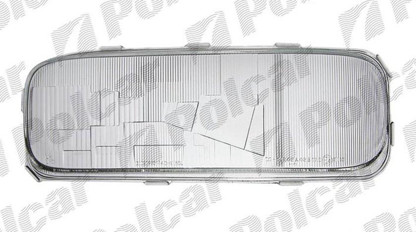 Dispersor sticla far Mercedes Atego (712-1528)/(1823-2628) 1998-, tip bec H4, BestAutoVest partea Dreapta H4 Kft Auto
