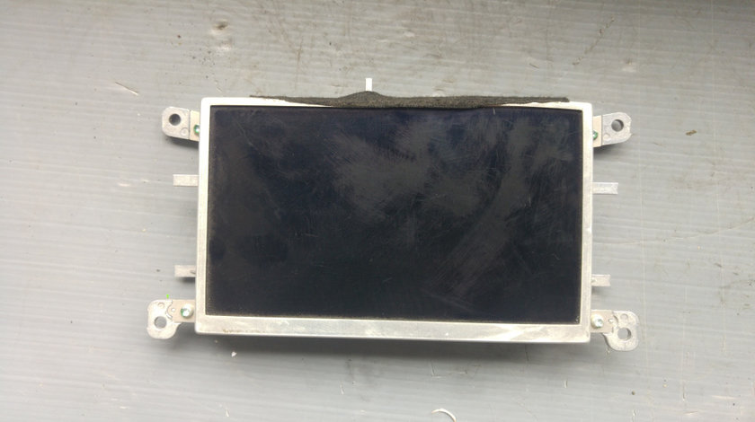 Display bord audi a4 b8 2008-2012 nonfacelift 8t0919603f