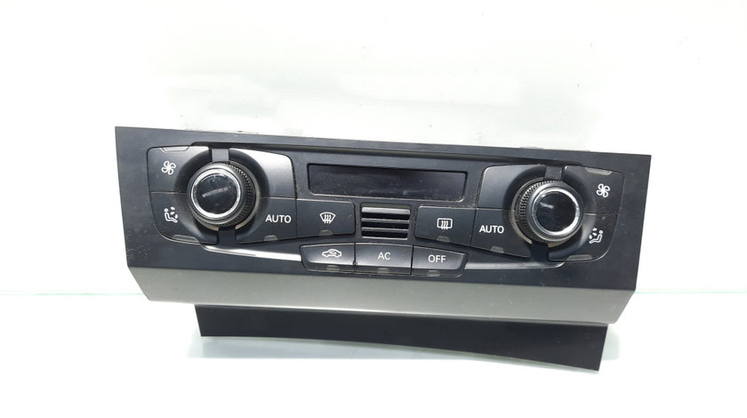 Display climatronic, Audi A4 (8K2, B8) [Fabr 2008-2015] 8T2820043S (id:448859)