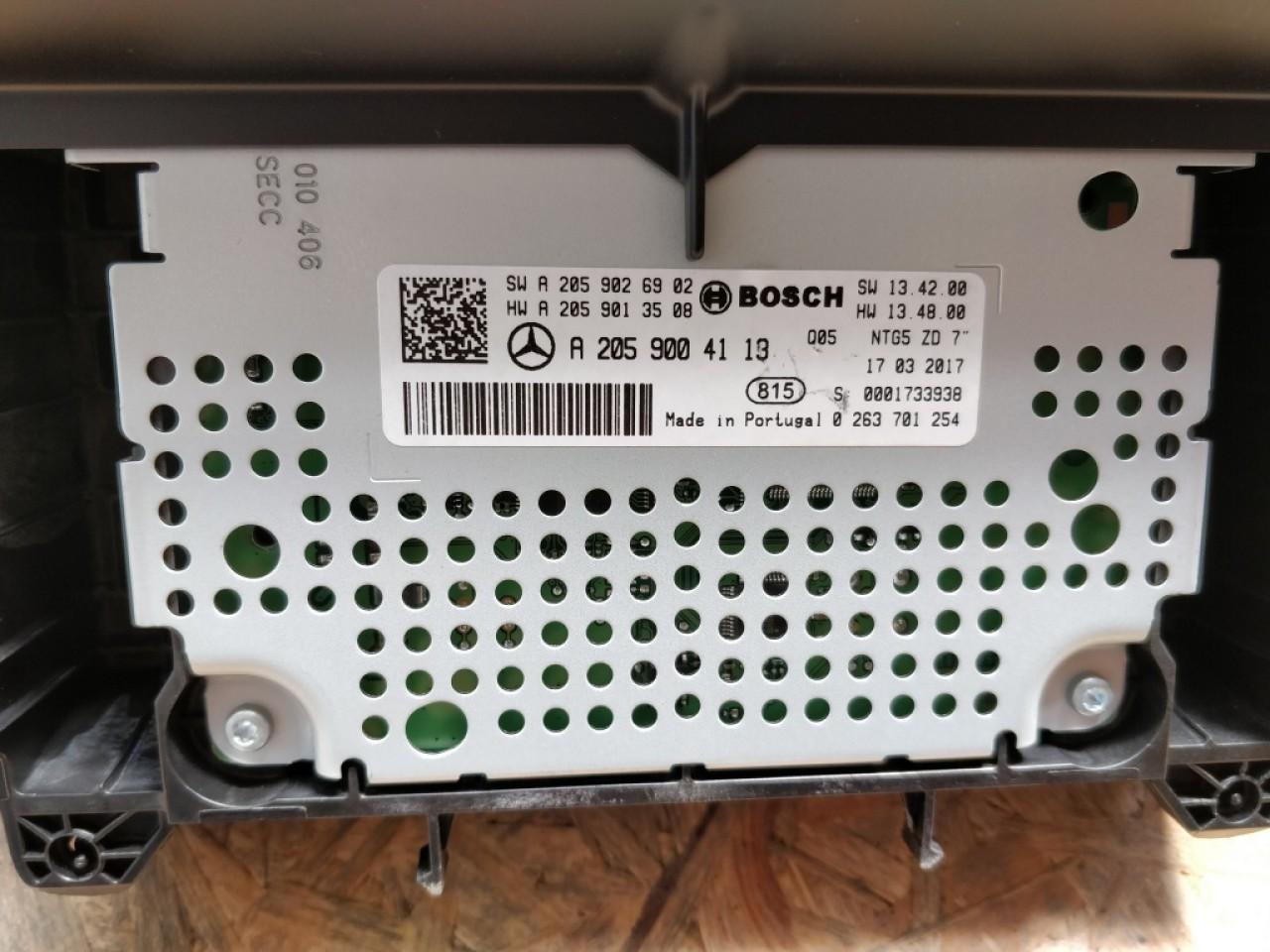 Display navigatie Mercedes W205 C Class // W447 V Class // W253 GLC