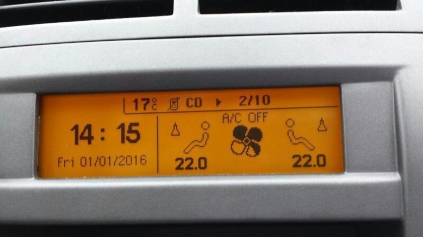 DISPLAY Peugeot 407 NOU! (mufa 12 pini), pret 499 lei!