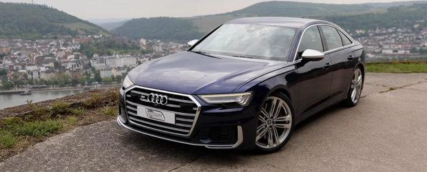 Disponibil pentru prima data in istoria modelului cu motor diesel. VIDEO cu noul Audi S6