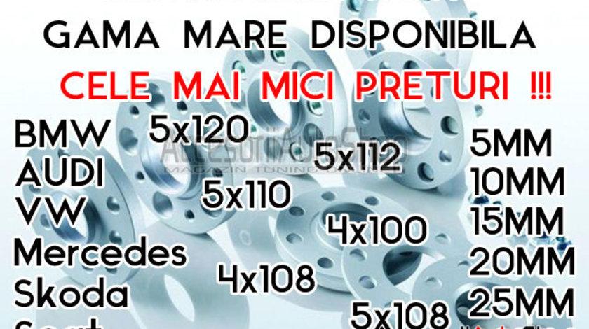 Distantiere 10mm 15mm 20mm AUDI - PROMO 220 RON SETUL 2 BUCATI