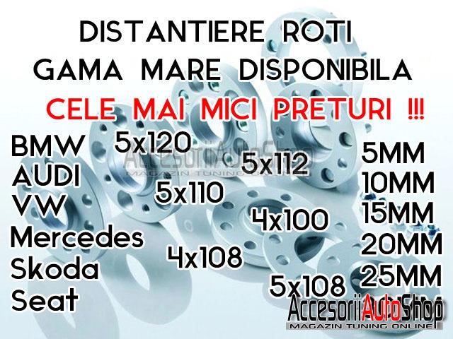 Distantiere 10mm 15mm 20mm BMW  - PROMO 220 RON SETUL 2 BUCATI