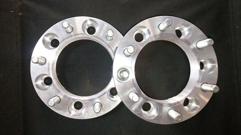 Distantieri dubla prindere,din aluminiu,interaxa 6x139,7 grosime 30 mm