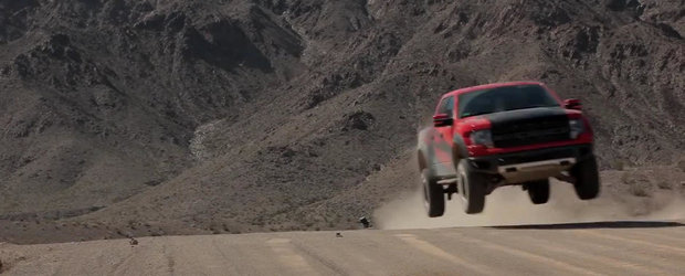 Distractie in off-road cu un Ford Raptor de 575 cai putere