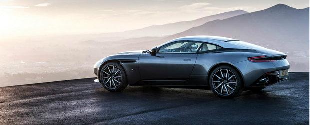Dle. Bond, noua dvs. masina este aici. Permiteti-mi sa va prezint noul Aston Martin DB11!
