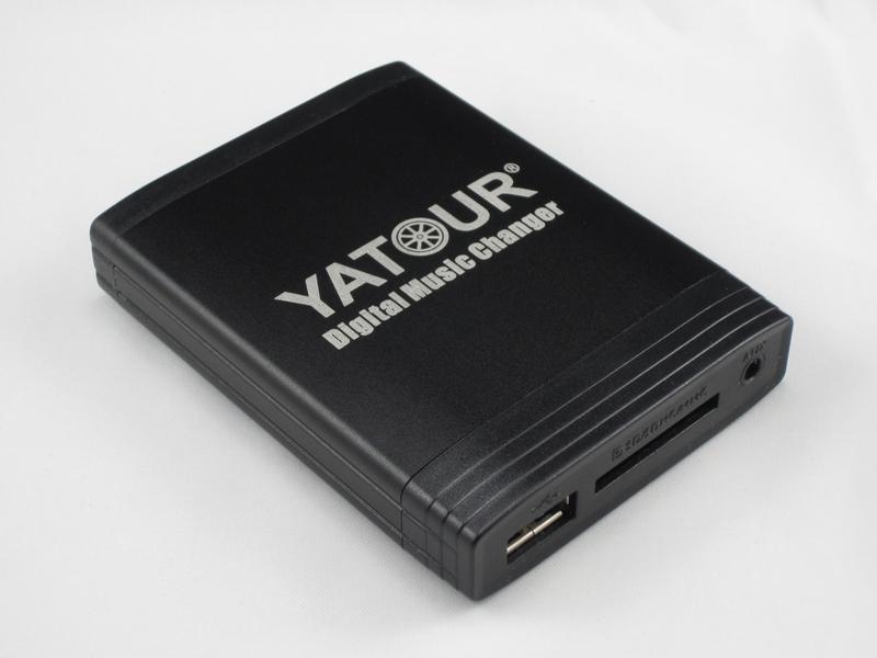 DMC Yatour - adaptor mp3 auto USB | SD | [ AUDI, VW, Seat, Skoda - conector 12 pini ]
