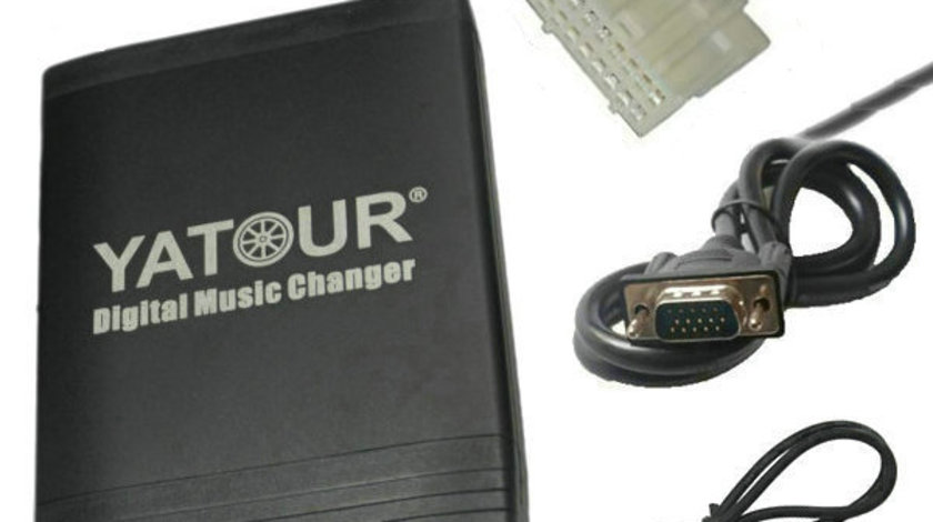 DMC Yatour - adaptor mp3 auto USB | SD | aux-in  [ MAZDA ]