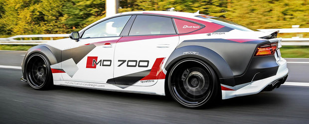 Doamne, cum poate sa arate! Toate secretele acestui fioros Audi S7