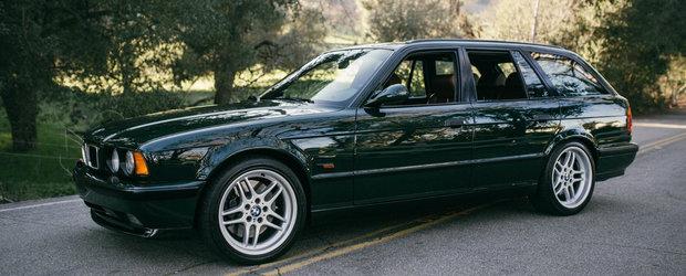Doar 20 au fost construite, iar una poate fi acuma a ta. Pentru cat se vinde acest BMW M5 Touring