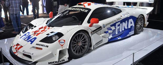 Doar 5.28 milioane dolari pentru un McLaren F1 GTR Longtail