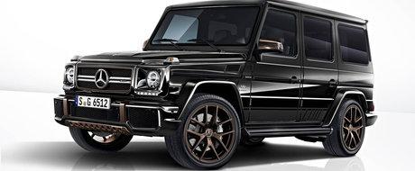 Doar 65 de norocosi il vor avea. Mercedes isi ia adio de la actualul G-Class cu un SUV de peste 300.000 de euro