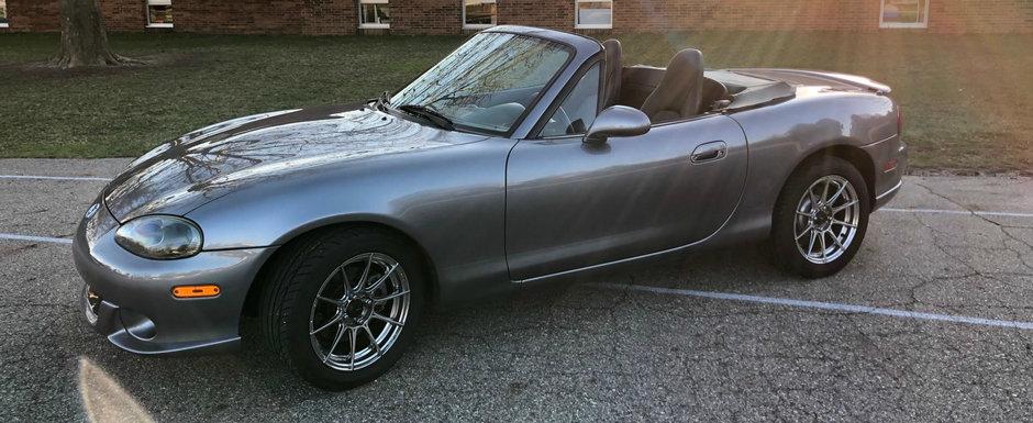 Doar astazi mai poti cumpara aceasta Mazdaspeed Miata, singura Mazda Miata cu motor turbo din fabrica