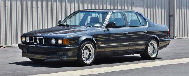 Doar astazi mai poti cumpara acest Seria 7 modificat de Alpina, unul dintre cele doar 332 de exemplare care exista in lume