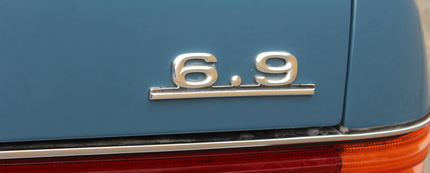 Doar astazi mai poti cumpara limuzina germana din '78, cu o suspensie hidropneumatica si un motor aspirat V8