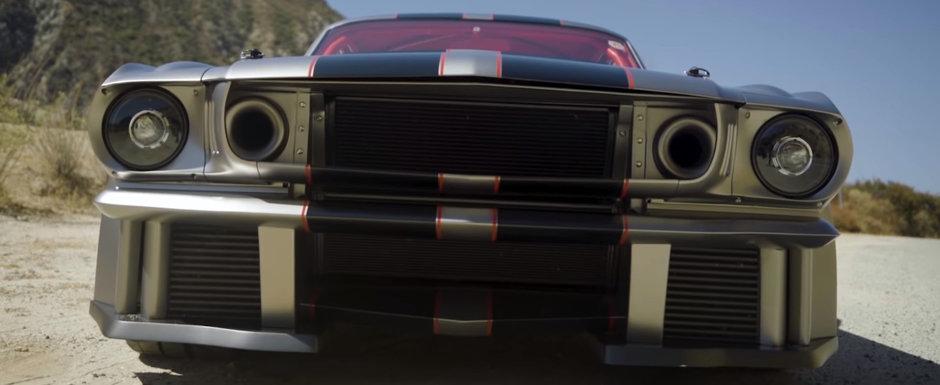 Doar cateva elemente originale au fost pastrate. Cum arata masina din 1965 dupa tuningul care a costat cat un Bugatti Veyron