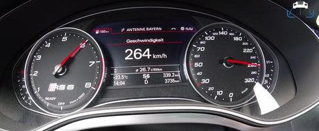 Doar ciupesti acceleratia si te baga in scaun! VIDEO cu noul Audi de 705 CP si 880 Nm