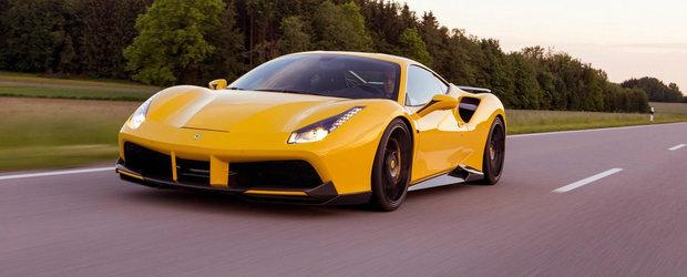 Doar din poze vei vedea fata acestui Ferrari 488. Supercarul italian are 772 CP si prinde 342 km/h
