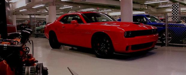 Dodge anunta o parte din performantele noului Challenger SRT Hellcat