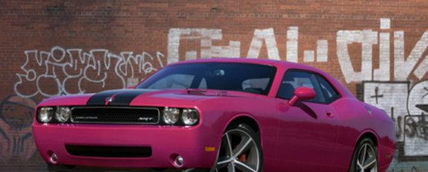 Dodge Challenger celebreaza 40 ani: Furious Fuchsia