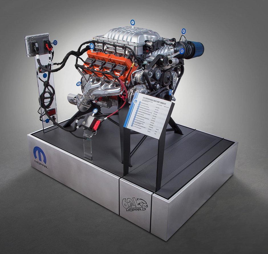 Dodge Challenger Hellcat - Motor