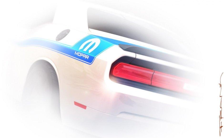 Dodge Challenger Mopar Edition - Teaser