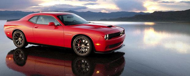 Dodge dezvaluie noul Challenger SRT Hellcat cu 600+ CP sub capota