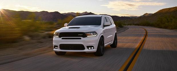 Dodge Durango SRT. Cel mai rapid SUV al americanilor pe care suntem siguri ca ti l-ai dori