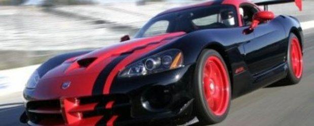 Dodge Viper ACR 1:33 Edition - Se poarta Red&Black