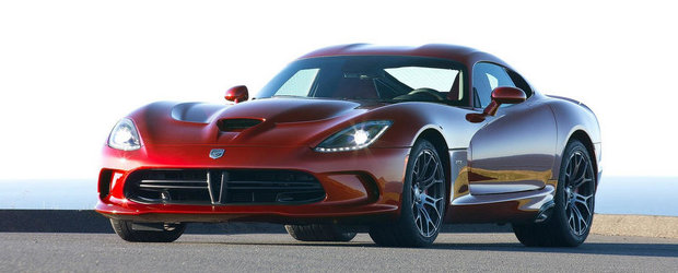 Dodge Viper SRT vine si in Europa