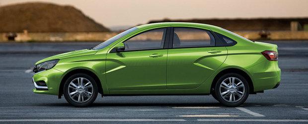 Doi noi rivali pentru Dacia Logan: Lada Vesta si Fiat Tipo