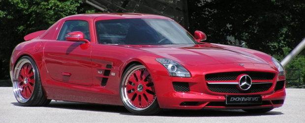 Domanig rafineaza noul Mercedes SLS AMG. Serios?