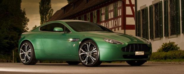 Don't pimp my Aston Martin! Jante Barracuda pentru V8 Vantage
